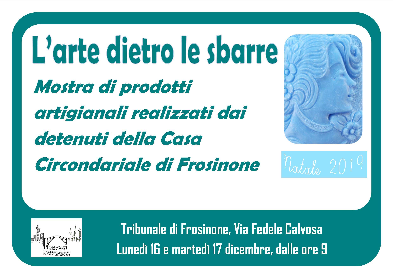 L'arte dietro le sbarre @ Tribunale di Frosinone